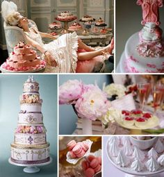 Inspiration with Songket Affairs (SA Diaries): Vintage Ideas: How to re-create a vintage reception Wedding Themes, Wedding Favors, Wedding Cakes, Wedding Decorations, Wedding Ideas, Marie Antoinette, Food Themes, Queen, Bridal Showers