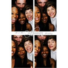 Harry at Marvin & Rochelle Humes wedding (July 2012)