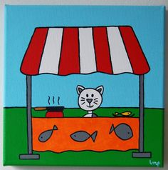 Ik zou best wel een visje lusten 20x20 cm  www.piepenko.nl