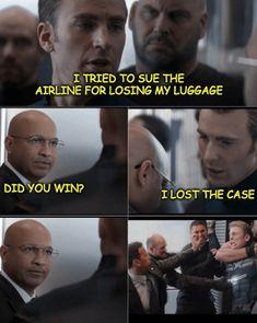 Captain America's Got Dad Jokes For Days In This New Meme