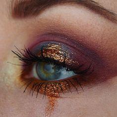 #makeup #eyemakeup #eotd #glittermakeup