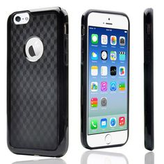 IPhone 6 / 6S Carbon Fiber Protective Back Case Cover Black