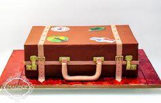 Luggage Cake - Cake by Imaginup