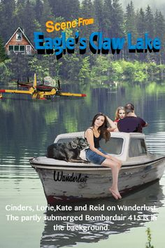 Eagle's Claw Lake by Ross Richdale Cinder, Eagles, Novels, Scene, Author, Digital, Movie Posters, Life, Eagle