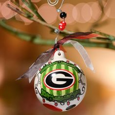 Georgia Between the Hedges Ornament
