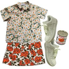 Untitled #960 by headshapes on Polyvore featuring mode, Cacharel, NIKE, sOUP and See by Chloé