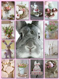 #easter #spring #collage #moodboard Happy Easter, Easter Bunny, Collages, Pot Pourri, Color Collage, Beautiful Collage, Easter Celebration, Easter Holidays, Spring Has Sprung