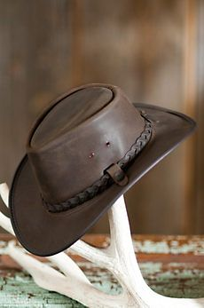 Traveler Crushable Leather Outback Hat Travel Hat e27d7c0e09b3