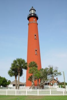 The second tallest lighthouse in the United States is in Ponce Inlet, FL.