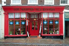 The Whitby Tea Rooms,Yorkshire, UK  This was in one of the areas I served in.  Such a cute place!!