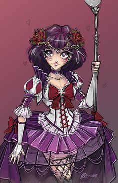Steampunk Sailor Saturn