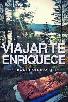 Viajar puede hacerte millonarionn#viajes #travel #inspiration #mochileros