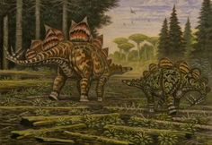 Stegosaurus stenops. Hesperosaurus mjosi by ABelov2014 on DeviantArt