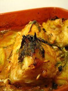 Cinco Quartos de Laranja: Bacalhau assado com vinho do Porto