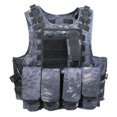 de4c0103b61 Tactical Vest Outdoor Camouflage Military Hunting CS Paintball Vest –  520outdoor Police Tactical Vest