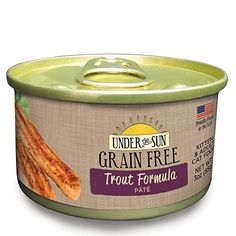 Under The Sun Grain Free Kitten  Adult Cat Wet Food Trout Formula 3 oz 12Pack >>> Check this awesome product by going to the link at the image.(This is an Amazon affiliate link and I receive a commission for the sales)