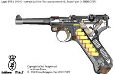 How a Luger P08 Pistol Works [610 × 395] - GIF on Imgur