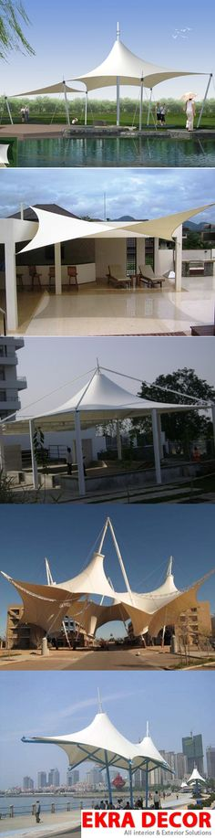 Tensile #Structure #India are the latest construction technique, which have flooded the market. This technique is very advanced and easy to install and demolish. They just look fabulous and are becoming popular day by day.