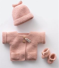 Bergere de France Layette Kit Pink 26348
