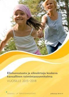 Elinluovutusta ja elinsiirtoja koskeva kansallinen toimintasuunnitelma vuosille 2015−2018