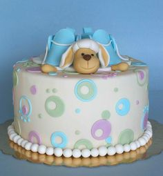Lamb and booties cake by bubolinkata, via Flickr
