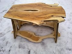 Beautiful Wooden Table 15....More Amazing #wooden #tables and #Woodworking Projects, Photos, Tips & Techniques at ►►► www.woodworkerz.com