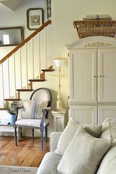 Faded Charm: ~Farmhouse Storage~