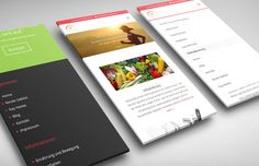 Fitlife-Balance responsive Webdesign