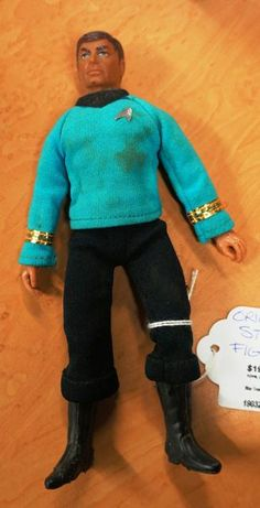 "**ORIGINAL**1974 Star Trek ""Dr. McCoy-Bones"" Figurine (Medium)"