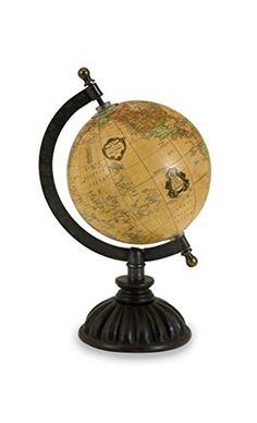 Buy IMAX Colony Globe - Topvintagestyle.com ✓ FREE DELIVERY possible on eligible purchases