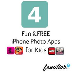 4 free photo apps for kids