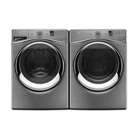 WFW87HEDC-YWED87HEDC Front-Load Washer & Dryer Set