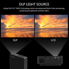 P8 Android 4.4 DLP Projector 100 ANSI Lumens 1000:1 Contrast Sale Online Shopping eu - Tomtop.com
