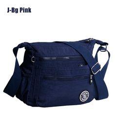5960426a47 2016 New Waterproof Nylon women messenger bags 100% Original Kiple Style  Casual Clutch Carteira Female Travel KP Shoulder Bags