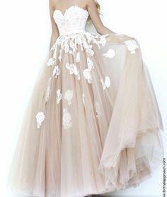 Vestido tipo princesa de 15anos