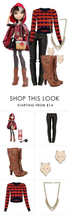 """""""Cerise Hood"""" by alittletoulouse ❤ liked on Polyvore featuring Mattel, Preen, UGG Australia, Ginette NY, House of Holland and Spell & the Gypsy Collective"""