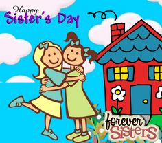 Send this #ecard to your #sister if she is your #bestfriend forever! #sistersday