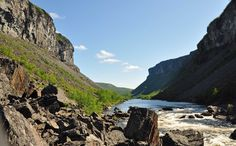 Alta Canyon, Sautso, the largest Canyon in Northern Europe. (www.nordnorge.no)