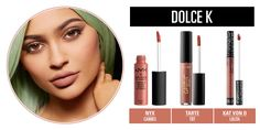 Dupes for Dolce K Lip Kit by Kyie