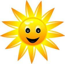 free sun clipart images free to use public domain sun clip art rh pinterest com sunshine clip art printable sunshine clip art black and white