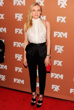Diane Kruger at the FX Upfront event in New York