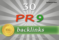 dripservice: manually create 30 PR9 backlinks from authority and trusted sites   PING for $5, on fiverr.com