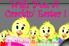 From our family to yours... Happy Easter! Egg coloring, no problem, we'll be open regular hours.