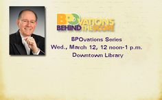 "2014 Event - The BPO's Paul Ferington will present on ""The Rhine and the East"" featuring music by Schumann and Griffes. Talk repeated at Orchard Park Lib..."