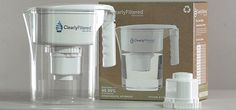 Clearly Filtered Water Pitcher, removes fluoride, heavy metals, benzene, nitrates & other chemicals & impurities.