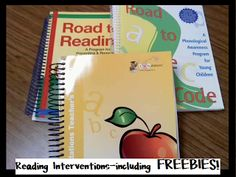 Reading Interventions w/ Freebies!