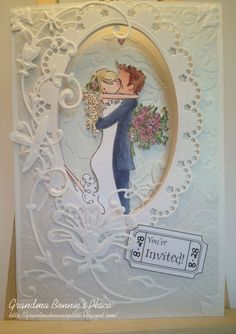 Grandma Bonnies Place: Marianne Design Creatables Floral release Wedding Style