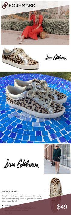 70cc4d26009a BEAUTIFUL Sam Edelman Britton 2 Calf hair sneakers Fabulous Sam Edelman  Britton 2 sneakers are made
