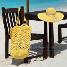 Midye Çanta Yapılışı - Mimuu.com Crochet Beach Bags, Crochet Tote, Crochet Handbags, Crochet Purses, Free Crochet, Sombrero A Crochet, Crochet Shoulder Bags, Craft Bags, Tote Pattern
