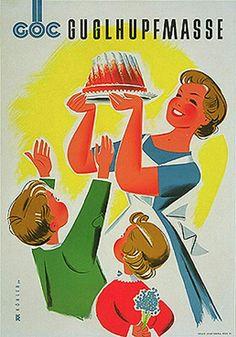 Food Vintage Poster 1950s